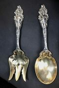 Love Disarmed By Reed And Barton 477 Grams Silver And Vermeil Gold 11 Serving Set