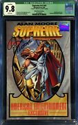 Supreme 41 Wizard Authentic Edition Variant Cgc 9.8 Signed By Alan Moore