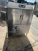 Hobart Stainless Steel Pass Through Dishwasher Model Cl443