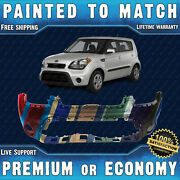 New Painted To Match - Front Bumper Cover For 2012 2013 Kia Soul Hatchback 12 13