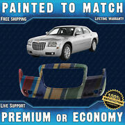 New Painted To Match - Front Bumper Replacement For 2005-2010 Chrysler 300 2.7l