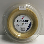 New Tecnifibre X-one Biphase Tennis String 17g, 660 Ft Reel. Multifilament