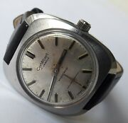 Vintage Cortebert All Stainless Steel Wehrmachtswerk Ut6325 Swiss Made From 60and039s