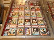 1974-5 Topps Hockey Complete Set Nm/mt W/ 31 Psa 9and039s Inc Berenson Plus 18 8/8.5