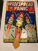 Widespread Panic Poster Halloween Chuck Sperry New Orleans 10/31-1 2008 - Rare