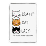 Crazy Cat Lady Case Cover For Kindle 6 E-reader - Funny Kitten