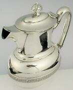Antique Pat 1875 And Co Beautiful Silver Soldered Demitasse Tea Pot Coffee