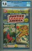 Justice League Of America 115 Cgc 9.8 White Pages // Only 4 Cgc 9.8and039s On Census