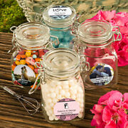 25-96 Personalized Apothecary Candy Jar - Wedding Shower Party Favor