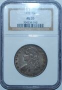 1832 Ngc Au55 Large Letters O-101a Capped Bust Half Dollar