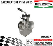 09357 Carburettor Dell'orto Vhst 28 Bs Valve Flat Air Manual To Lever