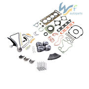 Engine Gasket Kitandtiming Kit And 23mm Pinston Ring For Audi A3 Vw Jetta Golf 1.8t