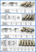 50sets 8mm 9mm 10mm 12mm Xlr Aviation Panel Chassis Metal Quick Fast Connector