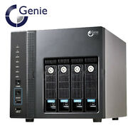 Genie Nvrpro416 Cube Nvr 16 Channel Model With Dual Network Cards And Max 4x Hdd