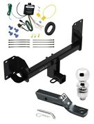 Trailer Tow Hitch For 19-20 Bmw X5 Except M Sport Package W/ Wiring And 2 Ball