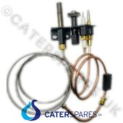 Blue Seal Gas Fryer Thermopile Thermocouple And Ignition Electrode Pilot Burner