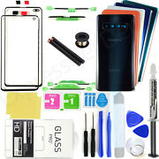 Front Screen Lens Back Glass Replacement Repair Kit For Samsung Galaxy S10/s10+