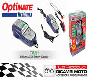 450156 Battery Charger Optimate Lithium Lithium Lifepo4 4s 5a 2-100ah Motorcycle