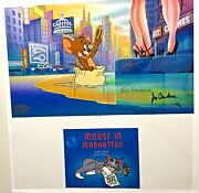 Tom And Jerry Cel Hanna Barbera Mouse In Manhattan Rare Number 1 Artist Proof