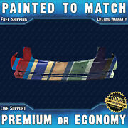 New Painted To Match Front Bumper Cover Fascia For 2006-2011 Cadillac Dts W/park