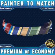New Painted To Match Front Bumper Cover For 2005-2007 Dodge Dakota W/ Fog Pickup