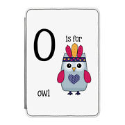 O Is For Owl Case Cover For Kindle 6 E-reader - Funny Alphabet Cute