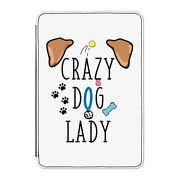 Crazy Dog Lady Brown Ears Case Cover For Kindle 6 E-reader - Funny Puppy