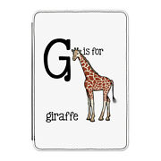 G Is For Giraffe Case Cover For Kindle 6 E-reader - Funny Alphabet Cute Animal