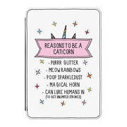 Reasons To Be A Caticorn Case Cover For Kindle 6 E-reader - Funny Cat Unicorn