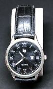 2 Old Watch Man Lip Black Leather Strap In Landrsquocondition