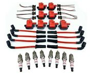8 Pack Performance Ignition Coil Packs And 10mm Wires Spark Plugs Fits Ls1 Ls6 Ls