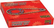 Regina Front 16 Rear 42t Sprockets With 525zrp Z-ring Chain Kit 7zrp/112-kho011