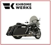 Scarico Khrome Werk Cromo Scuro 2 In 1 System Two Step 09 - 16 Harley Touring