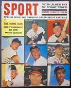Sport Magazine 1962 Home Runs Mike Ditka Negro Life In Baseball Today Boxing