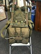 Military Style Packed Parachute Seat Pack Style W/ Papers