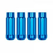 Blox 12p17 Blue Steel Tuner Style Extended Lug Nuts 12x1.5mm Open Ended 20pcs