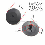 5x Hood Insulation Pad Retainer Clips For Gm