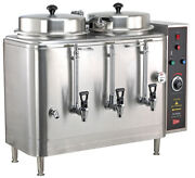 Grindmaster Cecilware Fe100n Twin 3 Gallon Urns New Authorized Seller