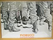 Original 1979 Fiorucci New Wave Italian Fashion Poster Boots Safety Jeans