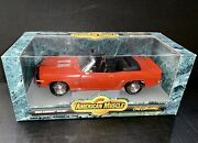 Ertl American Muscle 1969 Chevy Camaro Ss 396 118 Scale Diecast Model Car