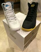 Under Armour Ua Steph Curry 1 One Championship Pack 2 Pair Shoes Mens 12 New/box