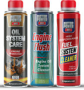 Engine Oil And Fuel Cleaning Kit Clean Restore Protect Motorpower Care