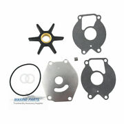 Outboard Water Pump And Impeller Kit 47-85089q4 Mercury Mariner 15-25hp 2-cycle