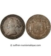 Italy, Marie Louise - 5 Lire Silver 1815
