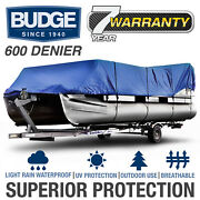 600 Denier Waterpoof Pontoon Cover   Fits Pontoons   3 Sizes Available