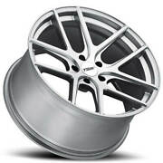 4ea 18 Staggered Tsw Wheels Geneva Matte Titanium Silver Rotary Forged S1