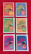 Lost Wacky Packages Series 2 3 And 4 Complete Sets Sealed Rare  @@ All 3 Sets @@