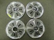 Used Set Of 1966 Ford Mustang Hub Caps.