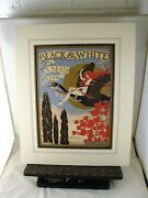 Art Nouveau Cover Illustrated By Arthur Layard For Black And White Xmas Of 1899
