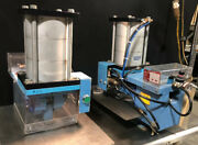 Lot Of 2 X-stamp Pneumatic Press 22817 W/ Fabco-air Cylinder Mp6x2-3-1 Ff